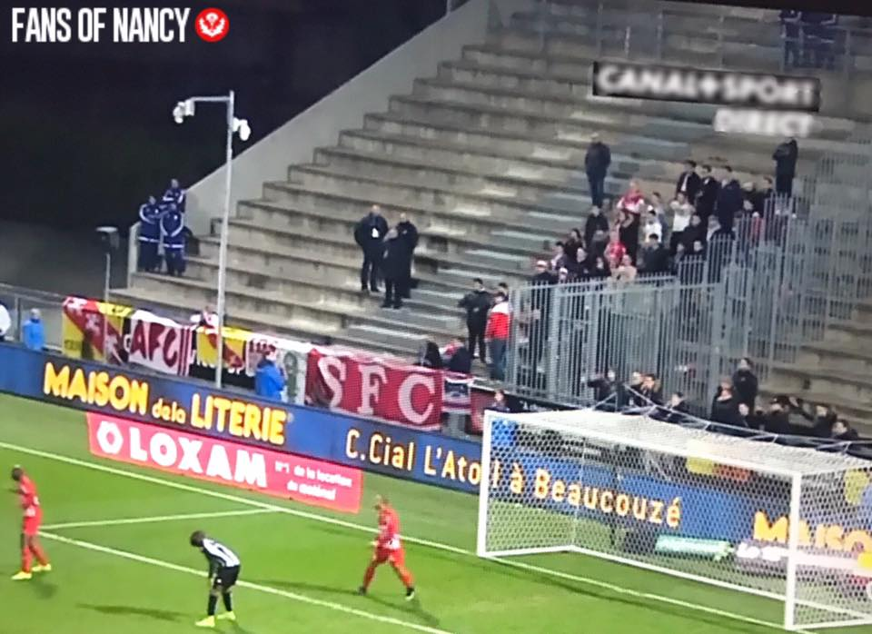 J26 : Angers - Nancy