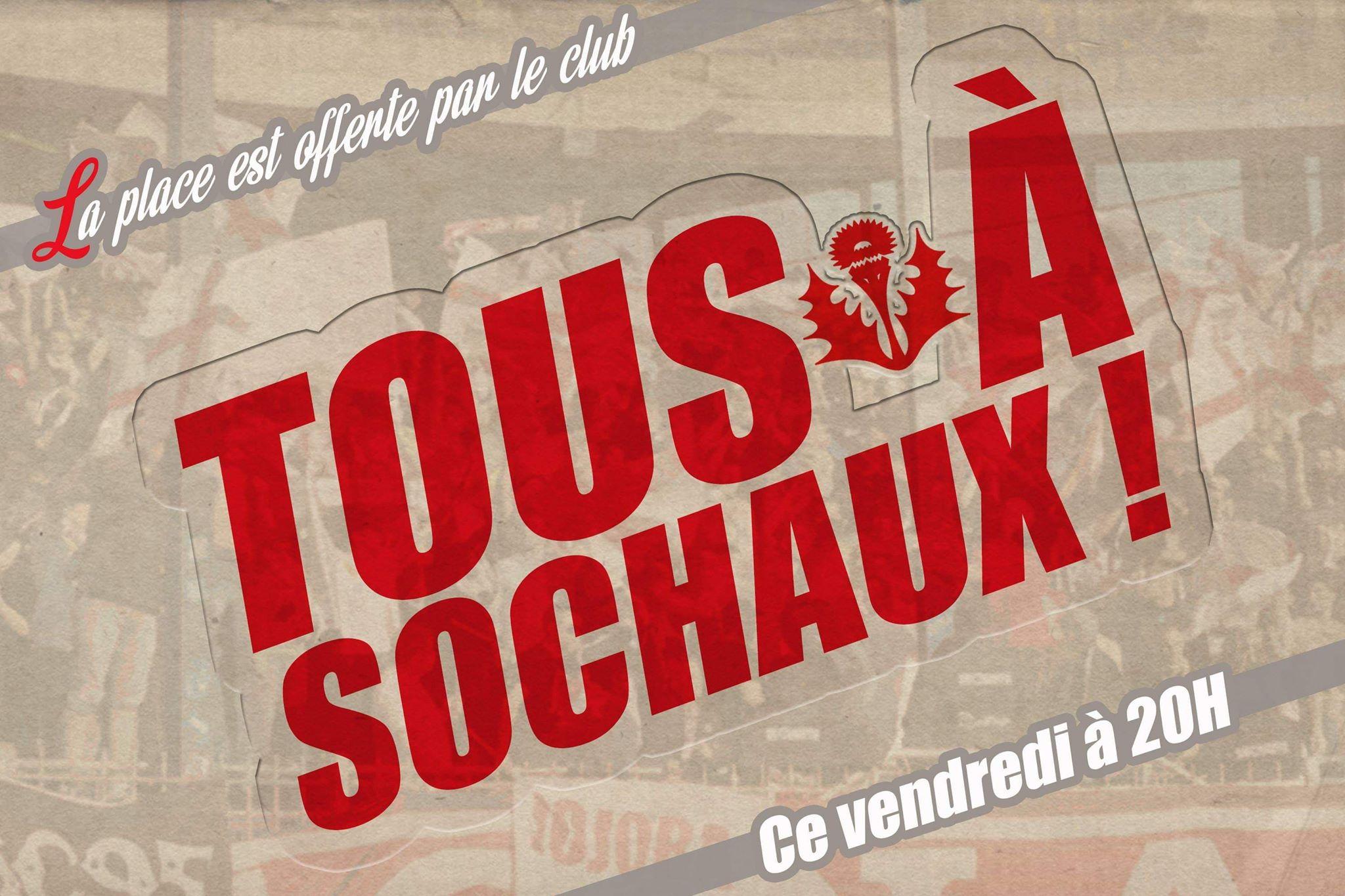RESTE 50 PLACES pour Sochaux !!