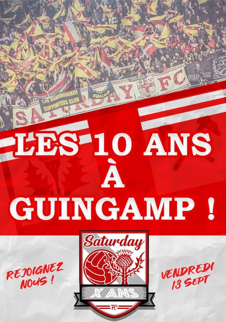 10 ANS SATURDAY FC !