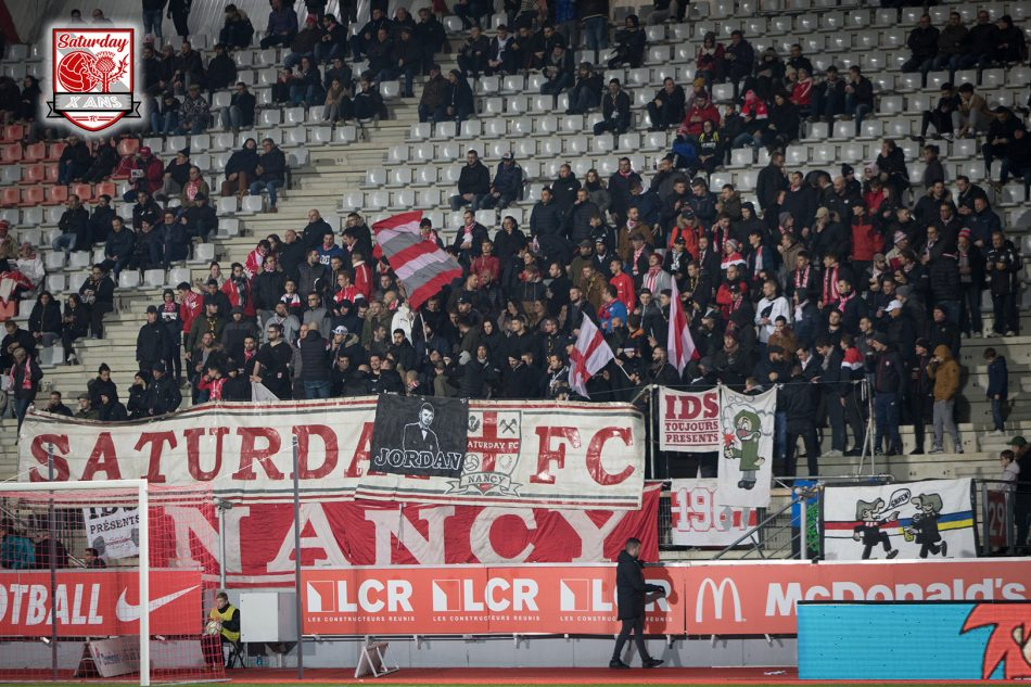 J16 : Nancy – Paris FC